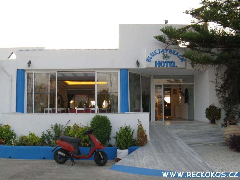 Hotel Blue Jay vchod
