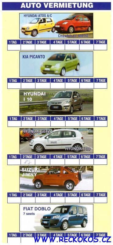 Autopůjčovna Tigaki tours