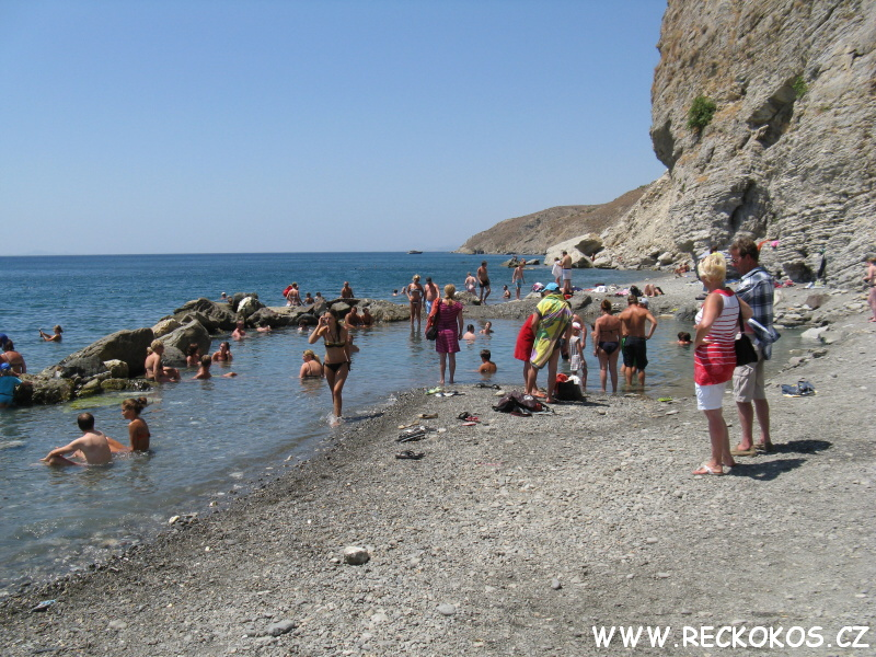 Termální prameny - Řecko Kos